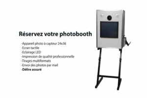photographe evenementiel location photobooth