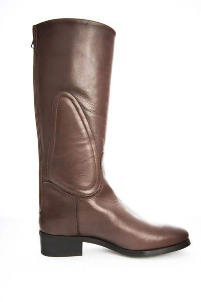 packshot bottes de cuir